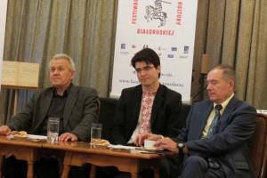Dyskusja panelowa z udziałem ekonomistów Leanida Złotnikowa i Aleksandra Aliechnowicza